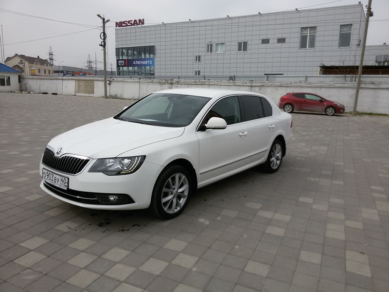 Skoda Superb II  2015г.